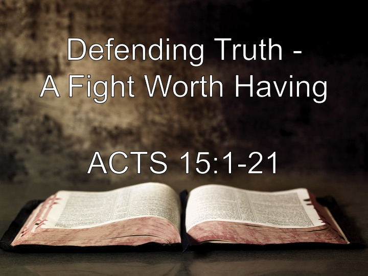 Defending Truth - A Fight Worth Having