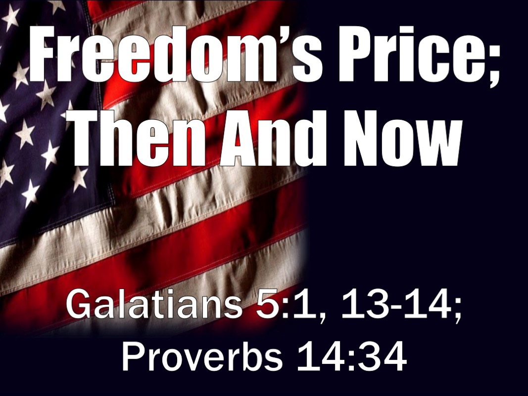 (Freedom Price; Then And Now)