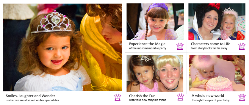 Once Upon A Dream Parties Brings Fairy Tale Characters To Life We Can Manage Your Princess Party With Activities Games And Full Array Of Entertainment